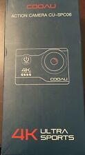COOAU 4K 20MP Wi-Fi Action Camera with Accessories