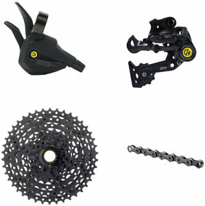 BOX Four 8-Speed Wide Single Shift eBike Groupset - Includes Wide Rear