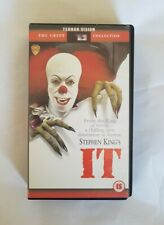 IT Stephen King Terror Vision VHS RARE