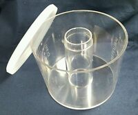 "1980's Vintage Food Processor ""Insert-a-Bowl"" Bowls with Lids"