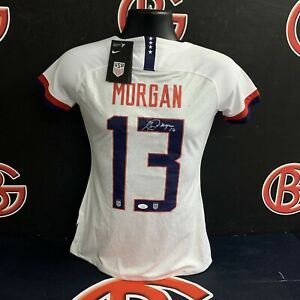 Alex Morgan USA Womens Soccer Signed Jersey Autographed JSA