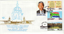 SOUTH AFRICA 1994 Presidential Inauguration Nelson Mandela FDC 6.3b 0229FDC1