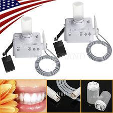 2 Dental Ultrasonic Piezo Scaler Water Bottle Fit DTE SATELEC Handpiece <D2>S