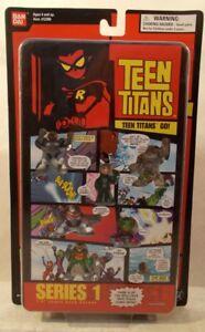 "Teen Titans Go! 1.5"" Comic Book Heros Ser 1 Pg 4 Robin Cyborg Gizmo Cinderblock"
