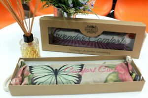 Luxury Wheat / Lavender Bag Microwavable Heat Cushion Gift Boxed 12 Designs