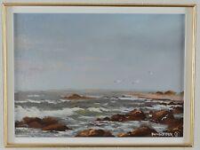 Heinz Pundleider 1925-.. Oil Painting Ocean Landscape Canadian Listed Artist