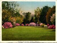 Bellingrath Gardens Mobile Alabama Flowers view Mobile Alabama Old Postcard A2