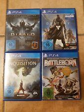 Playstation 4  Spielesammlung