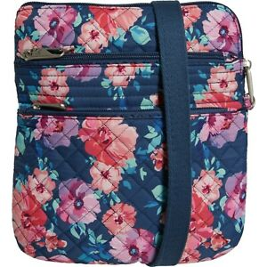 Travelon Anti-Theft Boho Slim Crossbody Bag - Blossom Floral