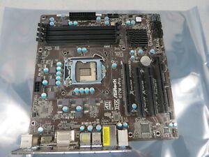 ASRock Q77M vPro Motherboard Intel Socket LGA1155 Q77 Chipset USB 3.1 Micro ATX