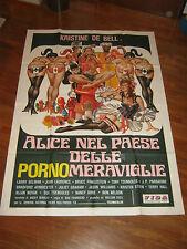 manifesto,Alice nel paese delle porno meraviglie,Alice Wonderland,K.De Bell,sexy
