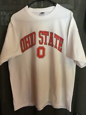 Delta Magnum Weight White Ohio State University T-Shirt Adult XL