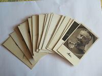 Konvolut von 31 Ansichtskarten mit Portraits von Adeligen & Militär um 1900-1920