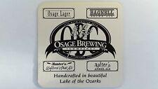 Osage Brewing Company Beer Coaster Kenilworth Restaurant and Brewpub