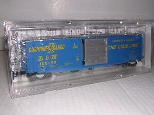 """KADEE #6322  L.& N. """"Blue"""" 50' PS-1 Box Car #100199 w/Cushion Underfr. H.O.1/87"""