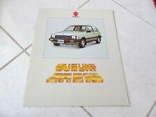 Suzuki SA 310 SA310 1982 brochure catalogue commercial sales prospectus