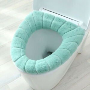 Bathroom Toile Soft Washable Toilet Seat Cover Mat for Seat Case Toilet Cover