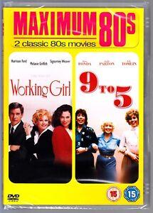 Working Girl / 9 To 5 DVD (Dolly Parton, Jane Fonda) Region 4 New & Sealed