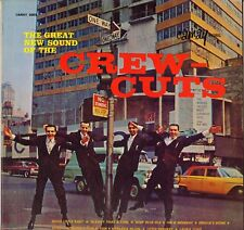 """THE CREW CUTS """"THE GREAT NEW SOUND"""" FOLK POP ROCK LP 1963 CAMAY 3002"""