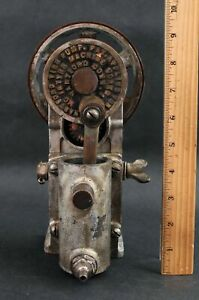 RARE Early Antique 1-Cylinder Hartford Tire Pump, Automobile Bicycle Garage Tool
