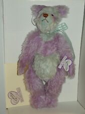 New ListingVintage Annette Funicello Lila Mohair Rainbow Bear 15in Ltd Edition c1990s w/Box