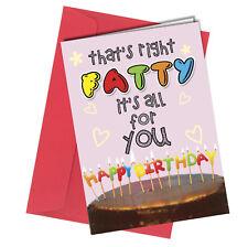 #42 BIRTHDAY CARD Boyfriend Girlfriend or Friend ADULT HUMOUR Funny Rude