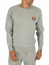 Ellesse Men's Diveria Left Chest Logo Sweatshirt, Grey
