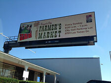 1 Sided Outdoor Full Color Led Billboard Sign 16'x25' Long * 16mm Hd 16P w/ WiFi