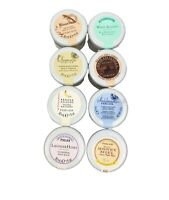 PERLIER BODY Cream Butter Mousse Balm Milk Lot of 8 JARS 1 oz Each