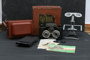 LOMO Camera stereo Sputnik stereoscopic USSR full set
