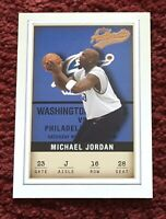 2001 02 Fleer Authentic Michael Jordan #16 Chicago Bulls Last Dance Championship