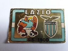 LAZIO SCUDETTO BADGE ALBUM CALCIATORI PANINI 1976/77 n° rec
