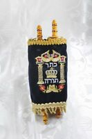 Small Hebrew Sefer Torah Scroll Book Jewish Israel Holy Bible #2