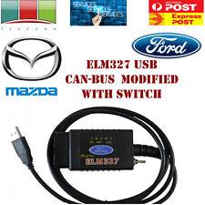 BRAND NEW ELM327 USB FTDI Modified for Ford Mazda OBD2 Diagnostic cable CAN  BUS