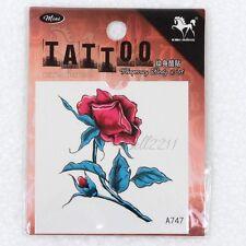 New Design Temporary Tattoo Body Non-Toxic Tatoo Sticker Beautiful Flower 1pc