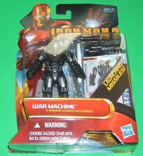 Iron Man 2 Comic Series #12 WAR MACHINE Action Figure NIB
