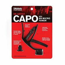 D'Addario NS Artist Capo with NS Micro Headstock Tuner