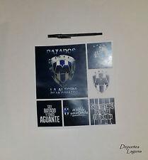 Rayados De Monterrey Set Of 6- Stickers (6 Calcomanias) *Buy 2, Get 1 Free!*