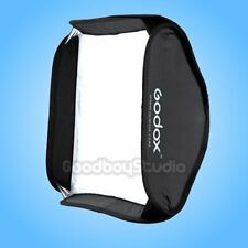 Godox 60x60cm Softbox Bag Kit for Studio Flash Speedlite fit Bowens Elinchrom
