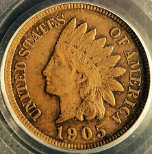 1905 PCGS MS64 Brown Indian Cent, rich medium brown surfaces