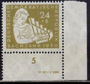 DDR  Nr. 257 mit DV  postfrisch **  nicht gefaltet