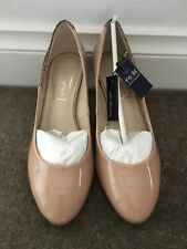 Marks and Spencer - Autograph coated leather wide feet court shoes with Insolia