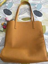 Red Cuckoo London Mustard Tote Bag