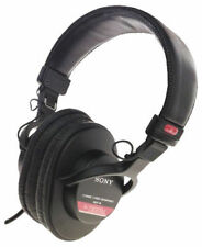 Sony MDR-V6 Over the Ear Headphones - Black