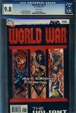 CGC 9.8 2007 World War III #2 DC Comics 52 3 Book 2 Highest Graded