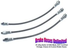 STAINLESS BRAKE HOSE SET Edsel Corsair 1959
