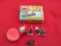 MERIT RAILWAY ACCESSORIES CABLE LAYING PARTY+ IN BOX. V.G.C.HO/OO GAUGE
