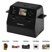 Magnasonic Film & Photo Scanner Converts Photo, Film & Slides into Digital JPEGs