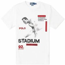 POLO Ralph Lauren STADIO OLIMPICO Collection 1992 Tee Grande Logo P-WING T-shirt