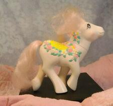 "5"" Hasbro My Little Pony MLP G1 Merry Go Round Flower Bouquet 3D Saddle 1989"